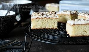 Gâteau moelleux vanille ou nature