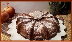 Gâteau aux pommes et calvados