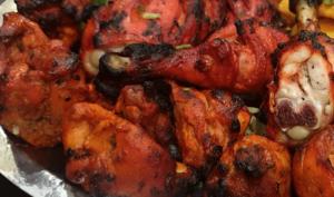 Pilons de Poulet Tandoori Au Four à l'Indienne