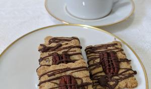 Sablés aux noix de Pécan et au chocolat