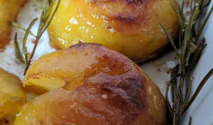 Perfect roast potatoes de Jamie Oliver.