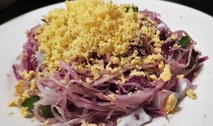 Salade mimosa de choux