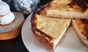 Tarte au fromage blanc sans gluten