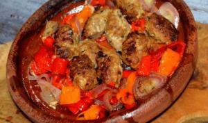Brochettes Keftas Grillées Au Four à la Marocaine