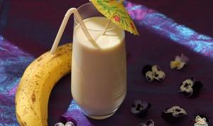 Milkshake bananes cannelle