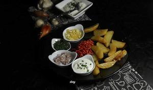 Bibeleskas pommes de terre au fromage blanc à l'alsacienne