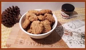 Biscuits à la moutarde à l'ancienne et piment d'Espelette