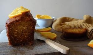 Cake miel-citron-noisettes