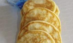 Pancakes à l'eau gazeuse