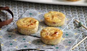 Bouchées au jambon et fromage