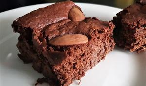 Gâteau au chocolat et purée de potiron