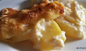Gratin dauphinois aux 2 fromages