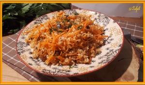 Salade de boulgour et carottes