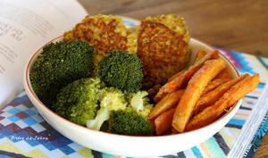 Végétale bowl riche en protéines et fibres végétales