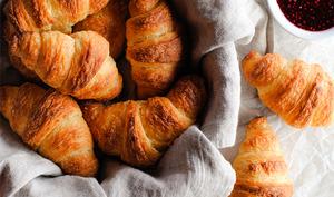 Croissants aux petits suisses
