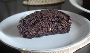 Gâteau moelleux banane chocolat au babeurre