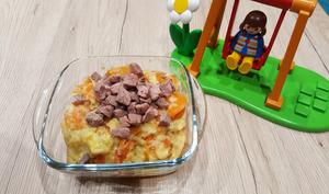 Petit pot panais, carotte au romarin et canard