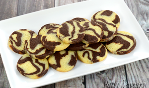 Cookies Marbrés au Chocolat
