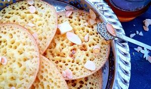 Baghrir express au lait / Crêpes mille trous - Culinaire Amoula