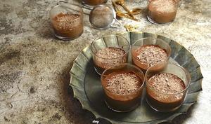 Mousse café chocolat aux épices