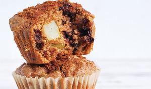Muffins aux poires et chocolat