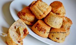 Petit moelleux à la banane, caramel au beurre salé Raffolé et blancs d'oeufs