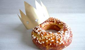 Brioche des rois sans beurre