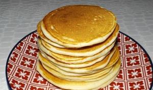 Pancakes moelleux au lait ribot