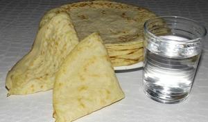 Crêpes à l'eau spécial fin de mois