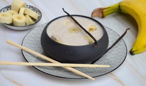 Soupe de bananes au lait de coco