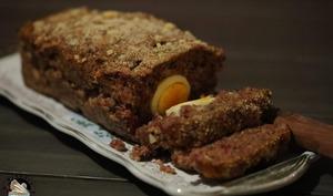 Pain de viande en cake
