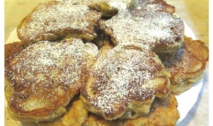 Pancakes pommes banane