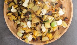 Poêlée hivernale rutabaga et pommes de terre