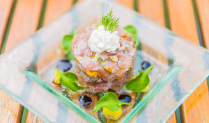 Tartare de Thon Fruit de la Passion