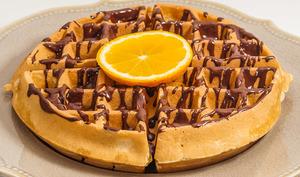 Gaufres à l'orange et au chocolat