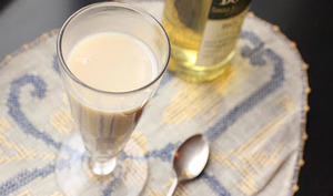 Crème d'avoine chaude au whisky