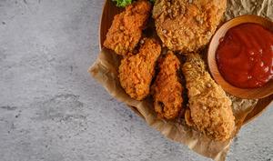 Poulet créole frit façon KFC