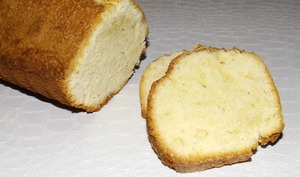 Pound Cake à la vanille