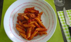 Penne en sauce tomate