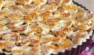 Tourte Pommes, cannelle et Spéculoos