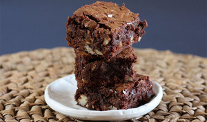 Brownies au fromage blanc et chocolat