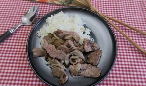 Bœuf aux oignons