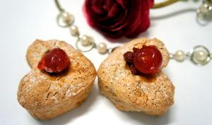 Amaretti en forme de coeur