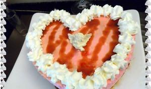 Coeur d'Amour - spéculoos, bananes, crème légère