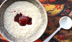 Quinoa au lait et à la crème
