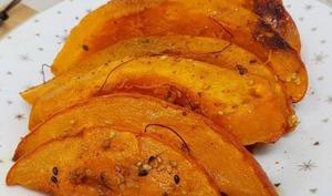 Potimarron rôti aux épices et sirop d'érable