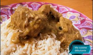Mijoté de porc au curry mandra avec cookeasy