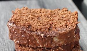Cake au chocolat facile et gourmand
