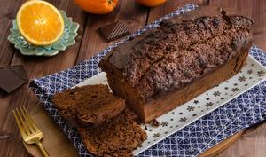 Cake chocolat orange confite