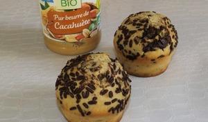 Muffins américains au beurre de cacahuète